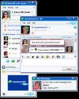 MySpaceIM screenshot