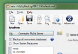 MySQL Backup FTP screenshot