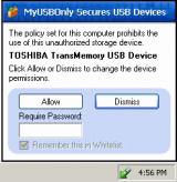 MyUSBOnly screenshot