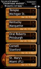 NCAA Tournament Courtside screenshot
