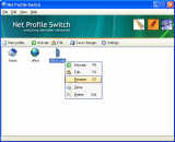 Net Profile Switch screenshot