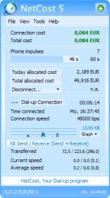NetCost screenshot