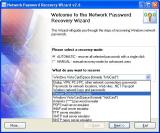 Network Password Recovery Wizard screenshot
