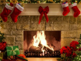 New Year Fireplace Screensaver screenshot