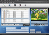 Nidesoft DVD to BlackBerry Converter screenshot