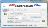 NonCompressibleFiles screenshot