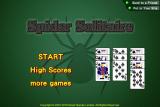 Novel Games Spider Solitaire screenshot