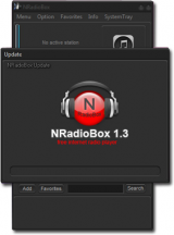 NRadioBox Portable screenshot