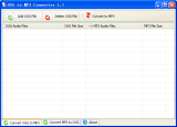 OGG to MP3 Converter screenshot