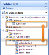 OLMixedFolders screenshot