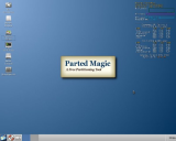 Parted Magic screenshot