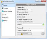 Password Inventor screenshot