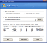 PCUnlocker screenshot