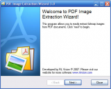 PDF Image Extraction Wizard screenshot