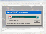 PDF to DWG Converter Stand-Alone screenshot