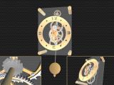 Pendulum Clock 3D Screensaver screenshot