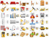 Perfect Warehouse Icons screenshot