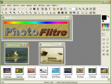 PhotoFiltre screenshot