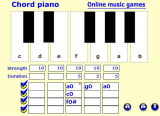 Piano chords screenshot