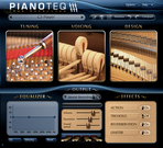 Pianoteq screenshot