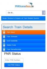PNR Status Buzz screenshot