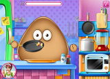 Pou Real Cooking screenshot