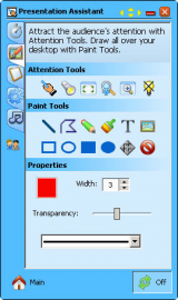 Presentation Assistant screenshot