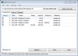 QIF2OFX screenshot