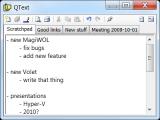 QText screenshot