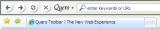 Quero Toolbar screenshot