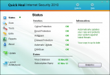 Quick Heal Internet Security screenshot