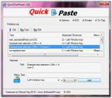 QuickTextPaste screenshot