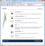 Quorum Call Conference Software screenshot