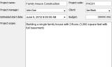 RationalPlan Single Project screenshot