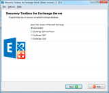 Recovery Toolbox for Exchange Server screenshot