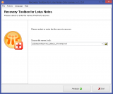 Recovery Toolbox for Lotus Notes screenshot