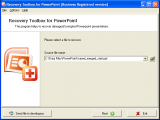 Recovery Toolbox for PowerPoint screenshot
