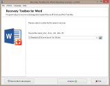 Recovery Toolbox for Word screenshot