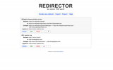Redirector screenshot