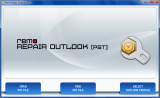 Remo Repair Outlook (PST) screenshot