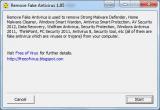 Remove Fake Antivirus screenshot
