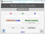 RGB Color Finder screenshot