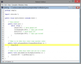 Robocode screenshot
