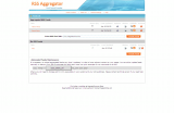 RSS Aggregator for X-Cart screenshot