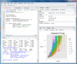 RStudio screenshot
