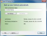 Safe PST Backup (Free Edition) screenshot