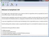 SanityCheck screenshot