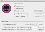 SCC Caption Decoder screenshot