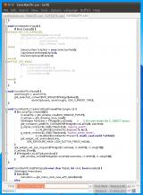 SciTE screenshot