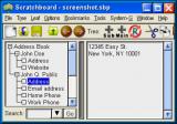 Scratchboard screenshot